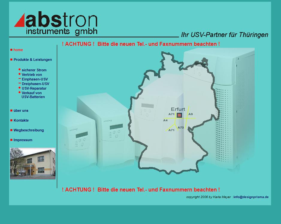 abstron instruments GmbH Betriebsstätte Erfurt