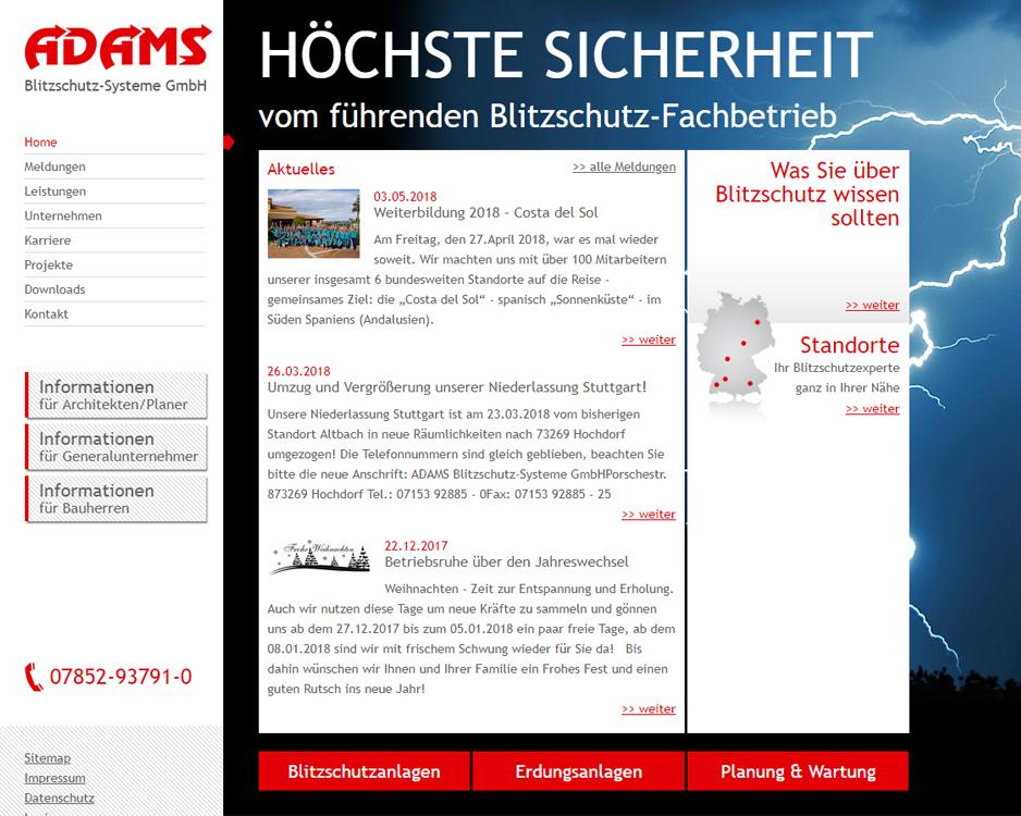 ADAMS Blitzschutzsysteme GmbH