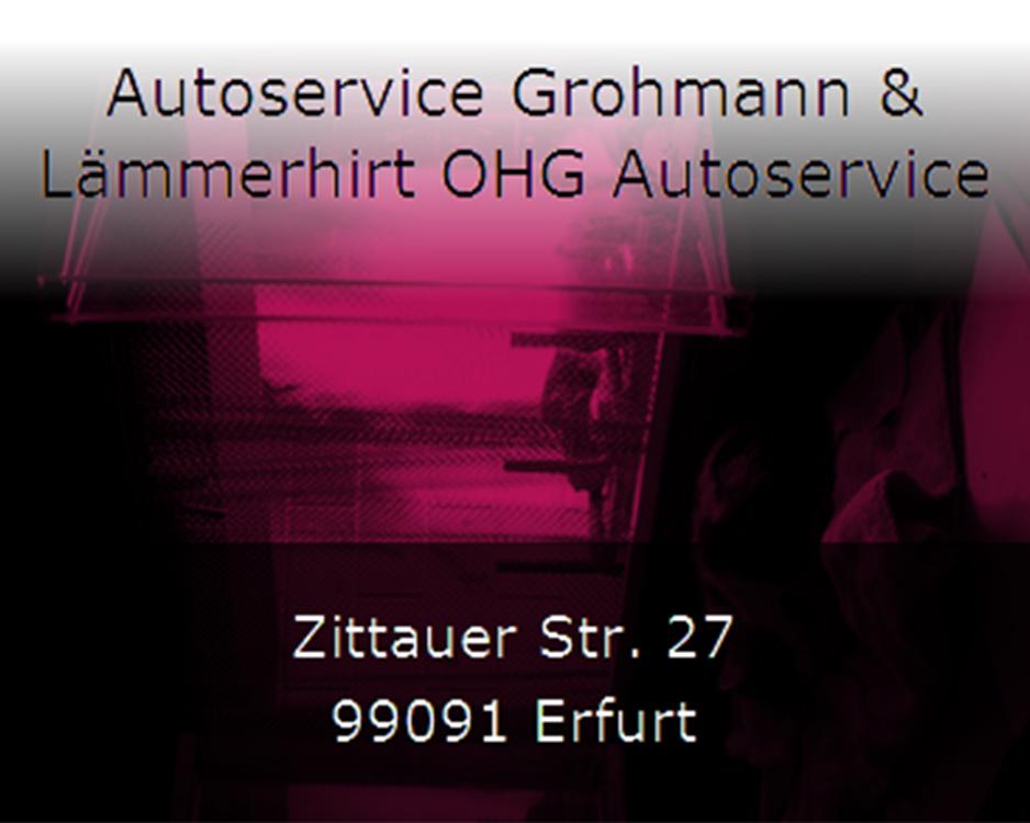 Autoservice Grohmann & Lämmerhirt OHG