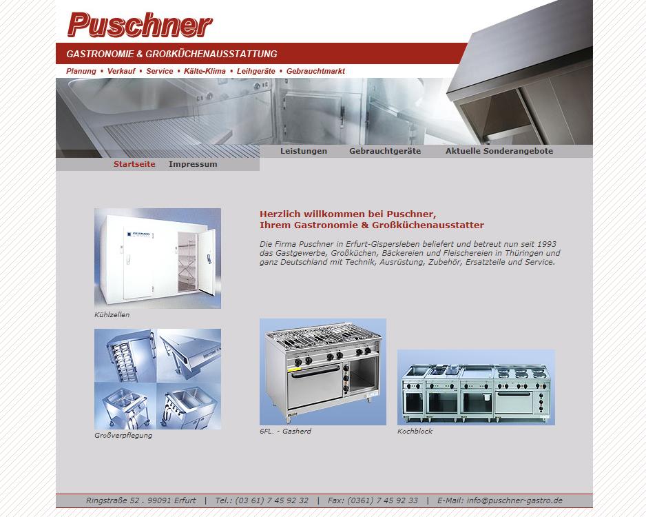 Gastronomie und Großküchenservice Puschner