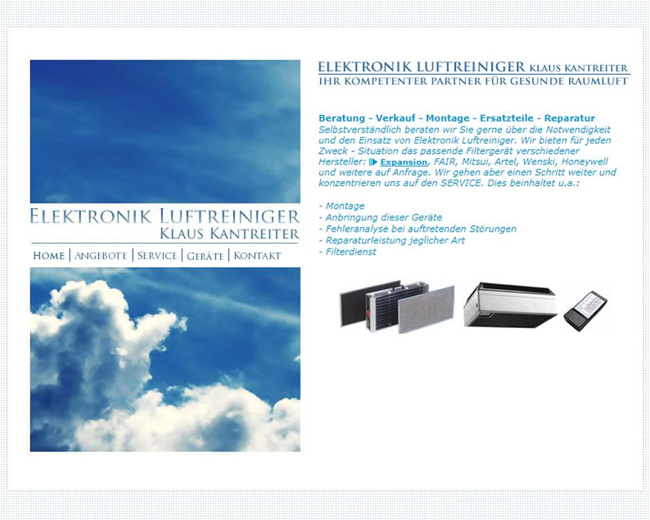 Kantreiter Elektronik Luftreiniger
